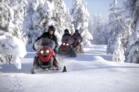 Snowmobile-tours