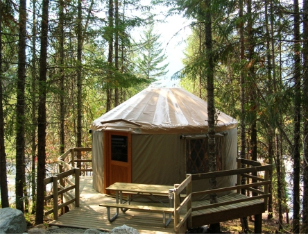 Yurt Riverside